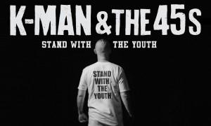 NOUVEAU VIDÉO DE K-MAN & THE 45s